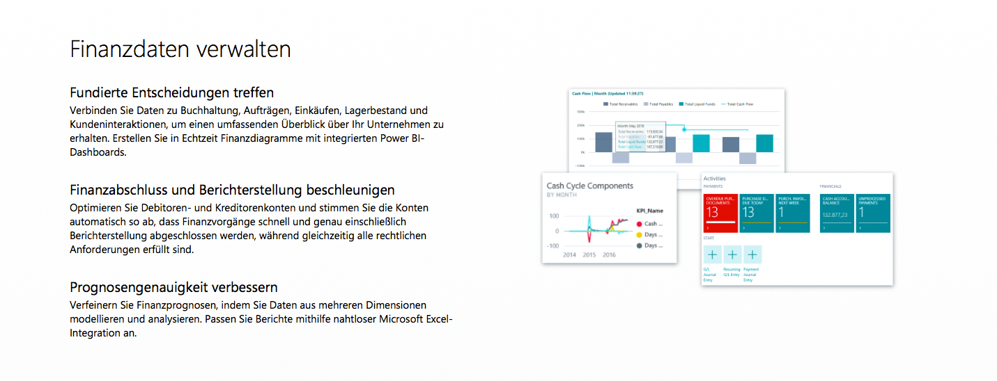 1.1. Microsoft Dynamics 365 Business Central - QdK Consulting GmbH - Finanzen