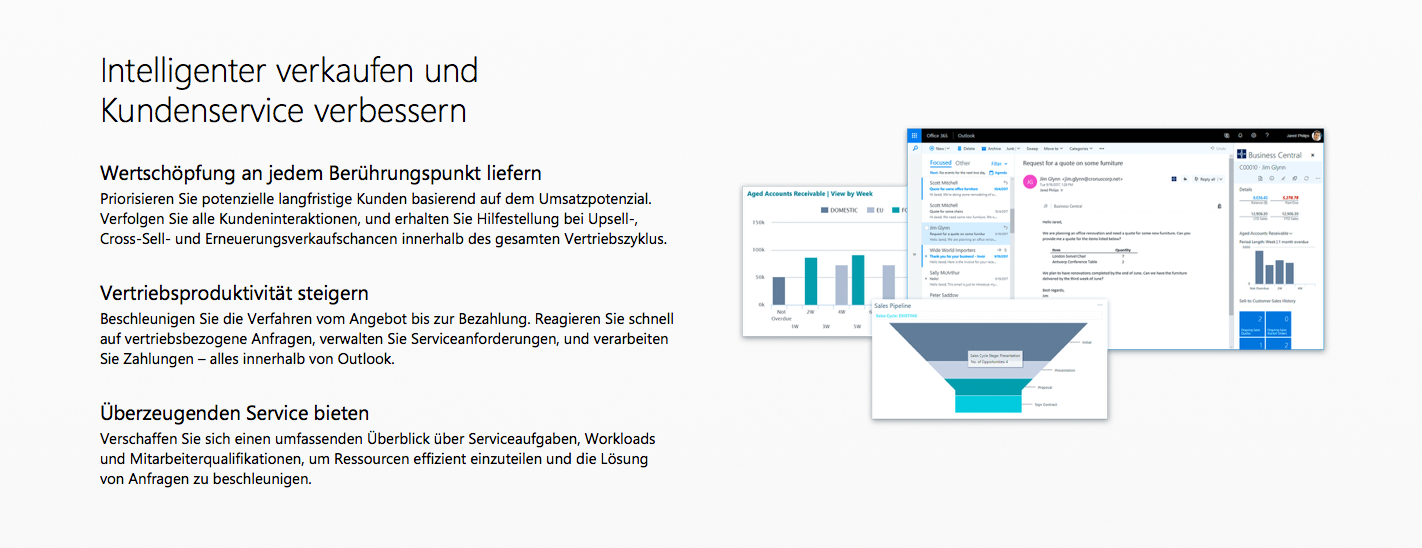 1.3. Microsoft Dynamics 365 Business Central - QdK Consulting GmbH - Kundenservice
